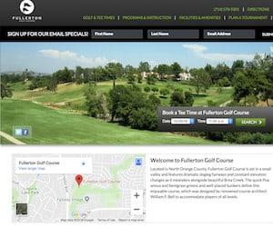 Find Fullerton Golf Course