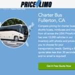 FULLERTON BUSES PRICE 4 LIMO