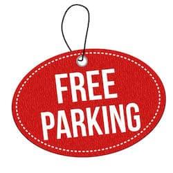 free parking city of Fullerton