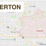 CITY OF FULLERTON MAP