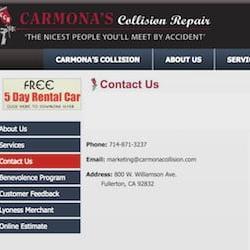 Fullerton Carmosa Colision Repair