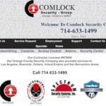 Comlock Locksmiths Fullerton California
