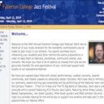 Annual Fullerton College Jazz Festival