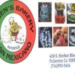 Rubens Bakery Fullerton California