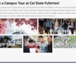 California State Fullerton College Tours