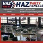 Best Fullerton party rentals haz party rentals fullerton california