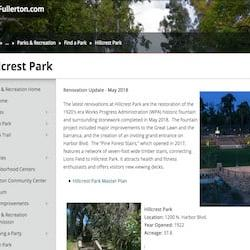Hillcrest Dog Park Fullerton
