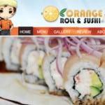 Orange Roll and Sushi Fullerton