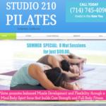 Studio 21 Pilate Class in Fullerton California