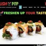 Sushi Pop Japanese Cuisine Fullerton
