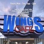 Wings Cafe Fulllerton
